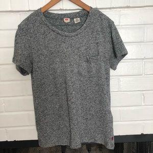 Levi's Gray Pocket T-shirt